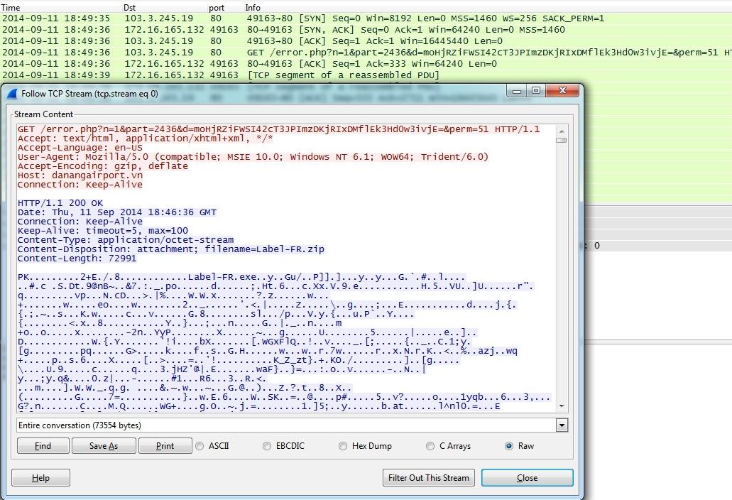 Malware-Traffic-Analysis net - 2014-09-11 - Asprox botnet phishing
