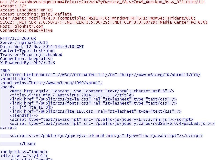Malware-Traffic-Analysis net - 2014-11-12 - Asprox botnet fake