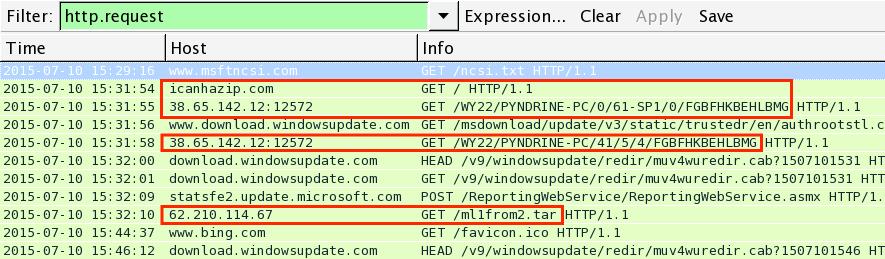 Malware-Traffic-Analysis net - 2015-07-11 - traffic analysis