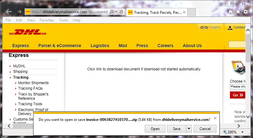 Dhl number tracking