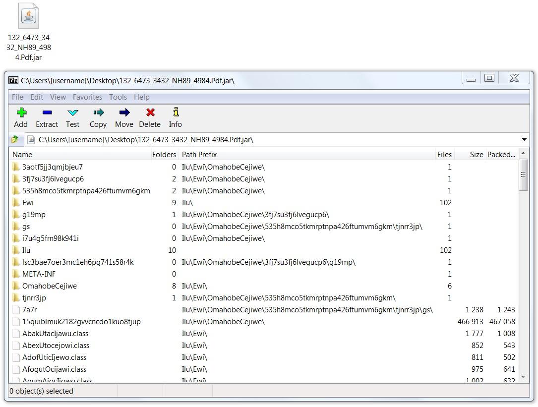 Malware-Traffic-Analysis net - 2017-10-09 - Adwind/jRAT malspam