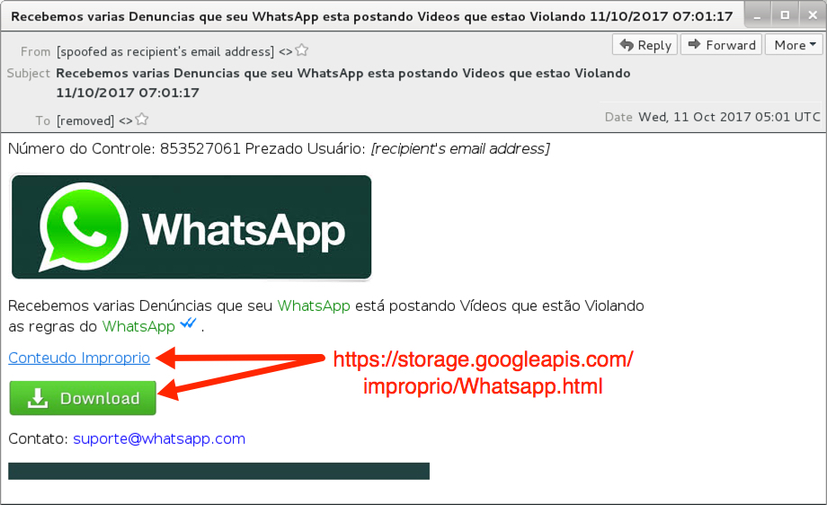 Malware-Traffic-Analysis net - 2017-10-11 - WhatsApp-themed Brazil