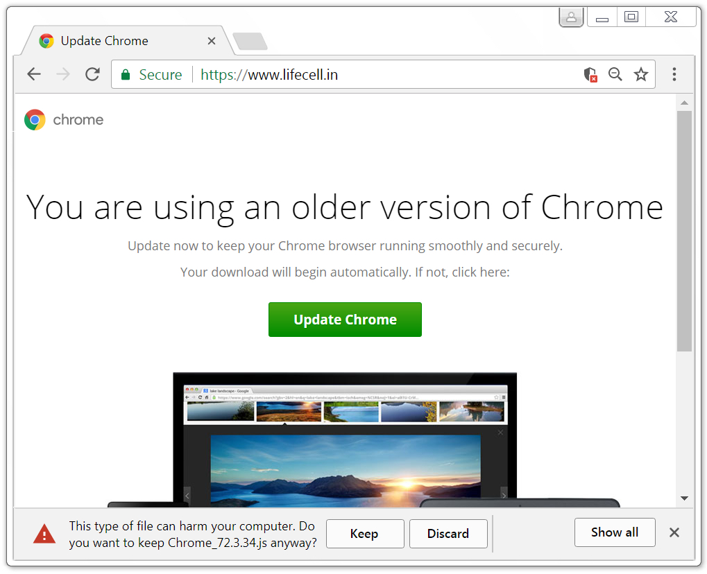 chrome component updater bits
